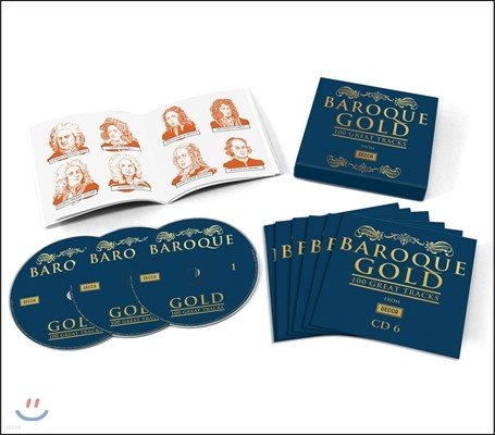 바로크 골드 100 (Baroque Gold: 100 Great Tracks from Decca)