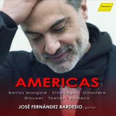 빌라-로보스, 바리오스, 히나스테라 - 기타 독주 작품집 (Villa-Lobos. Barrios, Ginastera - Works for Guitar 'Americas') - Jose Fernandez Bardesio