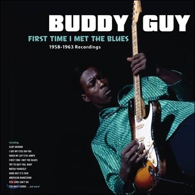Buddy Guy (버디 가이) - First Time I Met The Blues [LP]