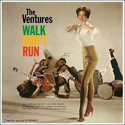 The Ventures - Walk Don't Run 더 벤처스 데뷔 앨범 [LP]
