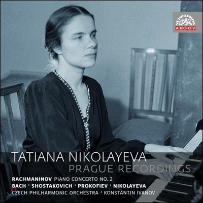 Tatiana Nikolayeva 타티아나 니콜라예바 프라하 레코딩 - 라흐마니노프: 피아노 협주곡 2번 / 프로코피에프 / 바흐 (Prague Recordings - Rachmaninov / Prokofiev / Nikolayeva / Shostakovich / J.S. Bach)