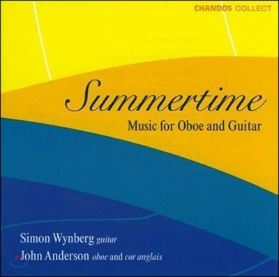Simon Wynberg / John Anderson 썸머타임 - 오보에와 기타를 위한 작품집 (Summertime - Music for Oboe and Guitar)