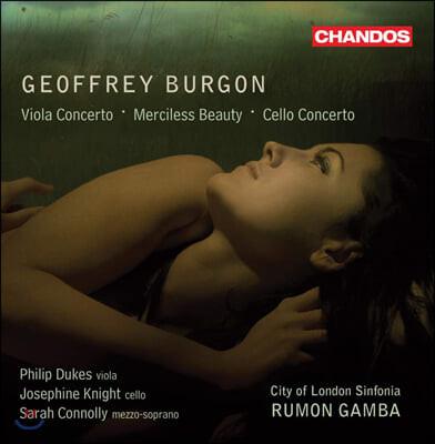 Rumon Gamba 제프리 버건: 비올라 협주곡, 메르실레스 뷰티, 첼로 협주곡 (Geoffrey Burgon: Viola Concerto, Cello Concerto)