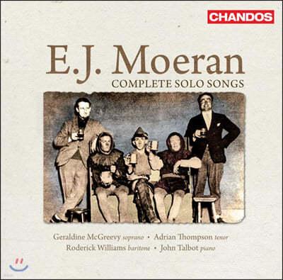 Geraldine McGreevy 어니스트 존 모런: 가곡 전곡집 (Ernest John Moeran: Complete Solo Songs)