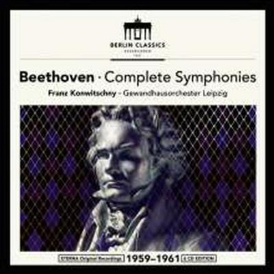 베토벤: 교향곡 1 - 9번 전집 (Beethoven: Complete Symphonies Nos.1 - 9) (6CD Boxset) - Franz Konwitschny