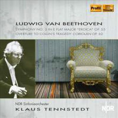 베토벤: 교향곡 3번 '영웅' & 코리올란 서곡 (Beethoven: Symphony No.3 'Eroica' & Coriolan Overture) - Klaus Tennstedt