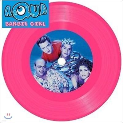 Aqua (아쿠아) - Barbie Girl (바비 걸) [7인치 핑크 컬러 LP]