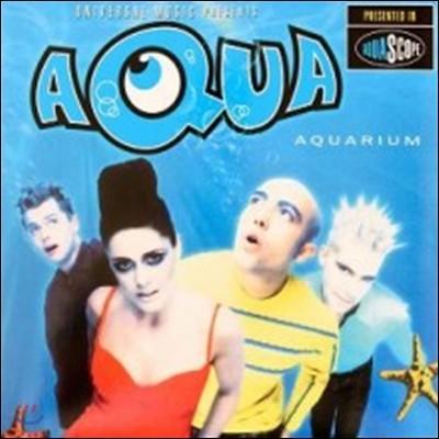 Aqua (아쿠아) - Aquarium [블루 컬러 LP]