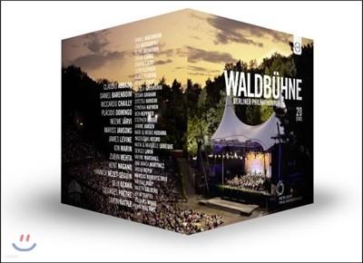 Berliner Philharmoniker 발트뷔네 콘서트 20 DVD 박스 세트 - 베를린 필하모닉 오케스트라 (Waldbuhne - 20 Concerts between 1992 and 2016)