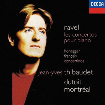 라벨: 피아노 협주곡, 오네거, 프랑세: 피아노 콘체르티노 (Ravel: Piano Concerto, Honegger, Francaix: Piano Concertino) (SHM-CD)(일본반) - Jean-Yves Thibaudet