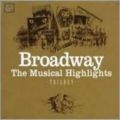 Various Artists - Braodway the Musical Highlights Trilogy (3CD)