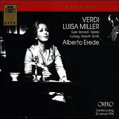 베르디 : 루이자 밀러 - 알베르토 에레데