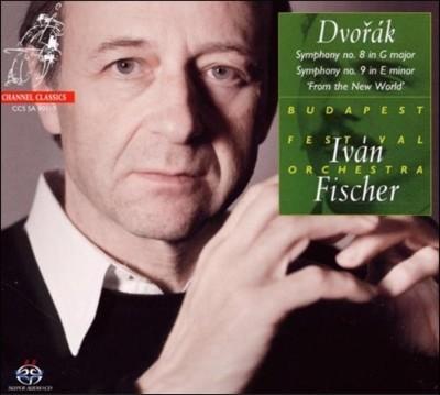 Ivan Fischer 드보르작: 교향곡 8번 9번 `신세계로부터` (Dvorak: Symphonies 8 & 9 `From the New World`) 이반 피셔