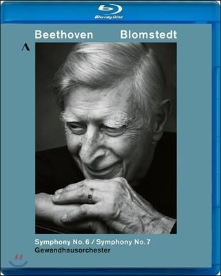 Herbert Blomstedt 베토벤: 교향곡 6번 '전원', 7번 (Beethoven: Symphony Op.68 'Pastoral', Op.92) 헤르베르트 블롬슈테트, 라이프치히 게반트하우스 오케스트라