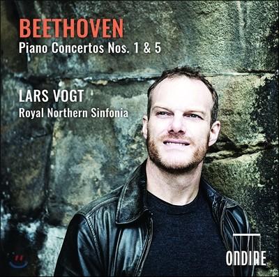 Lars Vogt 베토벤: 피아노 협주곡 1번 5번 `황제` (Beethoven: Piano Concertos Nos. 1 & 5) 라르스 포그트, 로열 노던 신포니아