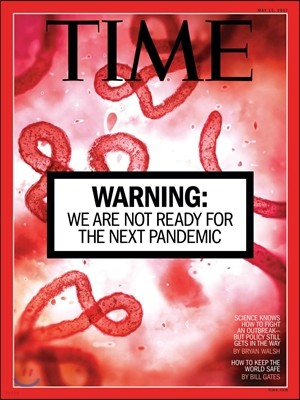 Time (주간) - USA Ed. 2017년 05월 15일 (타임 미국판 : 문재인 대통령 기사 수록)