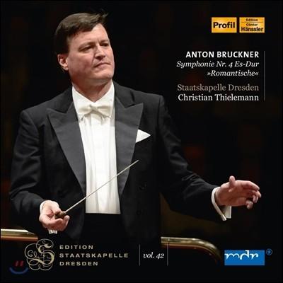 Christian Thielemann 브루크너: 교향곡 4번 '낭만적' (Bruckner: Symphony No.4 'Romantic') 크리스티안 틸레만, 슈타츠카펠레 드레스덴