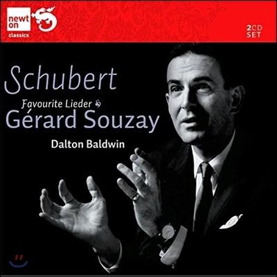 Gerard Souzay 슈베르트: 가곡집 '아름다운 물방앗간의 아가씨' (Schubert: Favourite Lieder - Die Schone Mullerin D795)