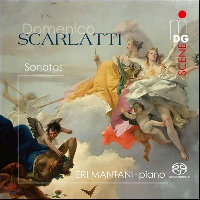 Eri Mantani 도메니코 스카를라티: 하프시코드 소나타 19곡 [피아노 연주반] (Domenico Scarlatti: Sonatas) 에리 만타니