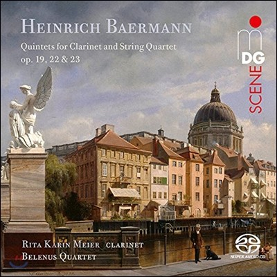 Rita Karin Meier 하인리히 베어만: 클라리넷 5중주 (Heinrich Baermann: Quintets for Clarinet & String Quartet Opp.19, 22 & 23) 리타 카린 메이어, 벨레누스 현악 4중주단