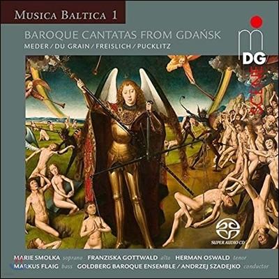 Andrzej Szadejko 무지카 발티카 1 - 그단스크 지역의 바로크 칸타타 음악 모음곡 (Musica Baltica 1 - Baroque Cantatas from Gdansk) 안제이 자드코, 골드베르크 바로크 앙상블
