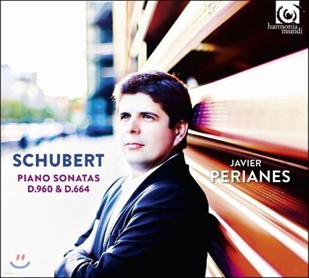 Javier Perianes 슈베르트: 피아노 소나타 (Schubert: Piano Sonatas D960 & D664) 하비에르 페리아네스