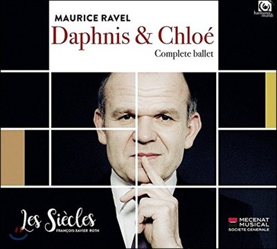 Francois-Xavier Roth 라벨: 다프니스와 클로에 발레 전곡 (Ravel: Daphnis et Chloe - Complete Ballet) 프랑수아-자비에 로스, 레 시에클