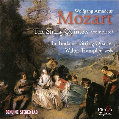 Walter Trampler / Budapest String Quartet 모차르트: 현악 오중주 전곡 1-6번 (Mozart: The Complete String Quintets) 발터 트람플러, 부다페스트 스트링 콰르텟