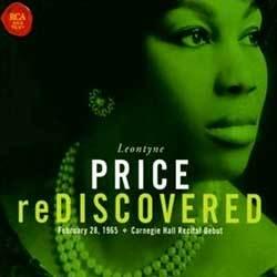 Leontyne Price - Rediscovered