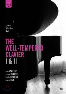 Angela Hewitt / Nikolai Demidenko 바흐: 평균율 클라비어 1, 2권 전곡집 (J.S. Bach: The Well-Tempered Clavier) 안젤라 휴이트