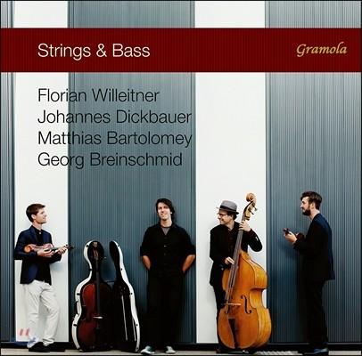 Florian Willeitner / Georg Breinschmid 스트링 & 베이스 -플로리안 빌라이트너, 요하네스 딕바우어, 마티아스 바르톨로메이, 게오르그 브라인슈미트 (Strings & Bass)