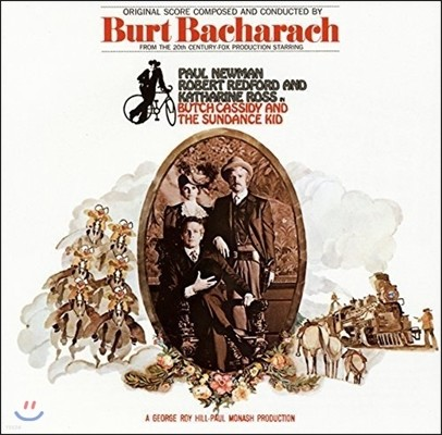 내일을 향해 쏴라 영화음악 (Butch Cassidy And The Sundance Kid OST - Music by Burt Bacharach 버트 바카락)