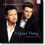 A Quiet Thing : 목소리와 기타를 위한 노래 - 데이빗 다니엘스, 크레이그 옥던