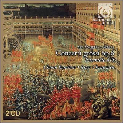 Ensemble 415 코렐리: 12개의 합주 협주곡 (Corelli: 12 Concerti Grossi Op.6)