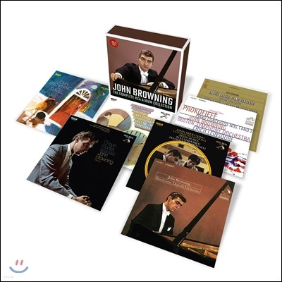 John Browning 존 브라우닝 - RCA 앨범 컬렉션 12CD 박스세트 전집: 1965년-1996년 녹음 (The Complete RCA Album Collection)