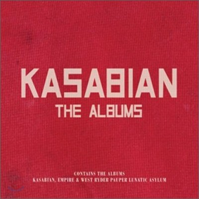 Kasabian - The Albums (Kasabian + Empire + West Ryder Pauper Lunatic Asylum)
