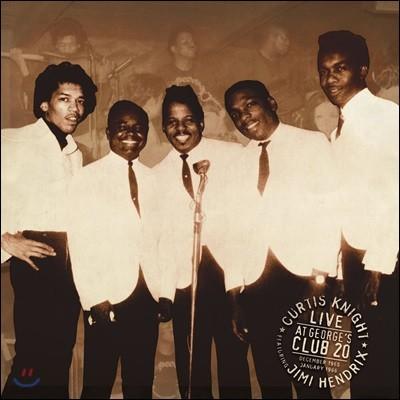 Curtis Knight & Jimi Hendrix - Live At George's Club 20 커티스 나이트 & 지미 헨드릭스 - 조지 클럽 20 라이브 [2LP]