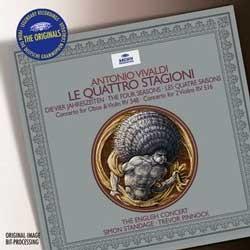 Simon Standage / Trevor Pinnock 비발디: 사계 (Vivaldi: The Four Seasons)