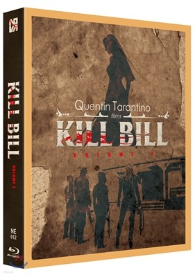 킬빌 Vol.2 (1Disc 풀슬립 B 스틸북 한정판) : 블루레이