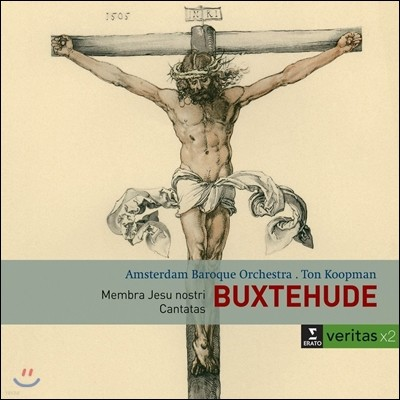 Rene Jacobs / Ton Koopman 북스테후데: 고난 받으신 예수님의 육신, 칸타타 - 르네 야콥스, 암스테르담 바로크 오케스트라, 톤 쿠프만 (Buxtehude: Membra Jesu Nostri, Cantatas)