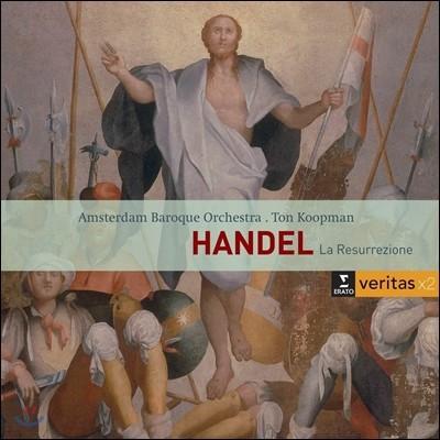 Ton Koopman / Barbara Schlick 헨델: 오라토리오 '부활' - 바바라 슐릭, 암스테르담 바로크 오케스트라, 톤 쿠프만 (Handel: Oratorio 'La Resurrezione')