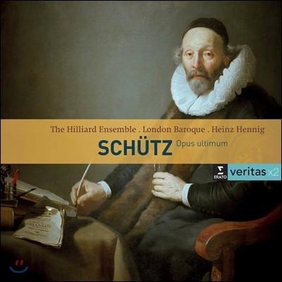 Heinz Hennig / Hilliard Ensemble 쉬츠: 백조의 노래 - 시편 119, 100편 외 (Heinrich Schutz: Opus Ultimum - Schwanengesang SWV 482-493) 하인츠 헤니히, 힐리아드 앙상블, 런던 바로크
