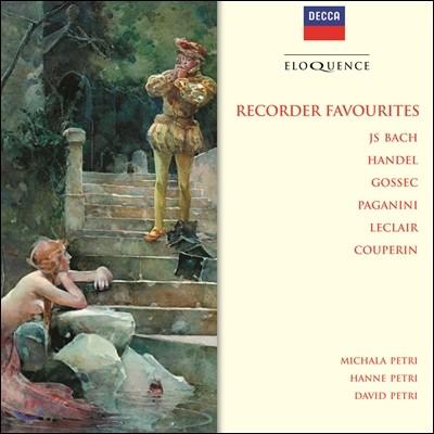 Michala Petri 미칼라 페트리의 리코더 애주곡집 - 바흐 / 헨델 / 고섹 / 파가니니 / 르클레르 / 쿠프랭 (Recorder Favorites - J.S. Bach / Handel / Gossec / Paganini / Leclair / Couperin)