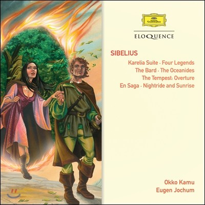 Eugen Jochum / Okko Kamu 시벨리우스: 교향시 - 카렐리아 모음곡, 네 개의 전설, 음유시인, 엔 사가 (Sibelius: Tone Poems - Karelia Suite, Four Legends, The Bard, En Saga, The Oceanides)