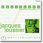 Jacques Loussier Trio - 베토벤: 교향곡 7번 알레그레토, 테마와 변주곡