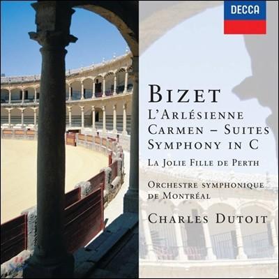 Charles Dutoit 비제: 아를르의 여인 모음곡, 교향곡 C장조 (Bizet: L'Arlesienne, Symphony in C)