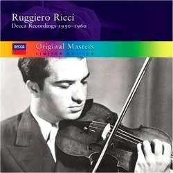 Ruggiero Ricci Decca Recordings 루지에로 리치 데카 레코딩 1950-1960