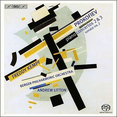 Freddy Kempf / Andrew Litton 프로코피에프: 피아노 협주곡 2번 3번 (Sergey Prokofiev: Piano Concerto No. 2 No.3)