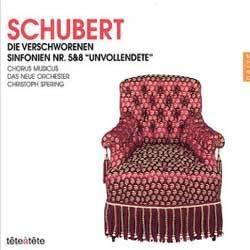 슈베르트 : 오페라 공모자, 교향곡 5, 8번 - 크리스토프 슈페링