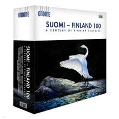 핀란드 고전음악 100년의 역사 (Suomi:Finland 100 - A Century of Finnish Classics) (5CD Boxset) - Hannu Lintu